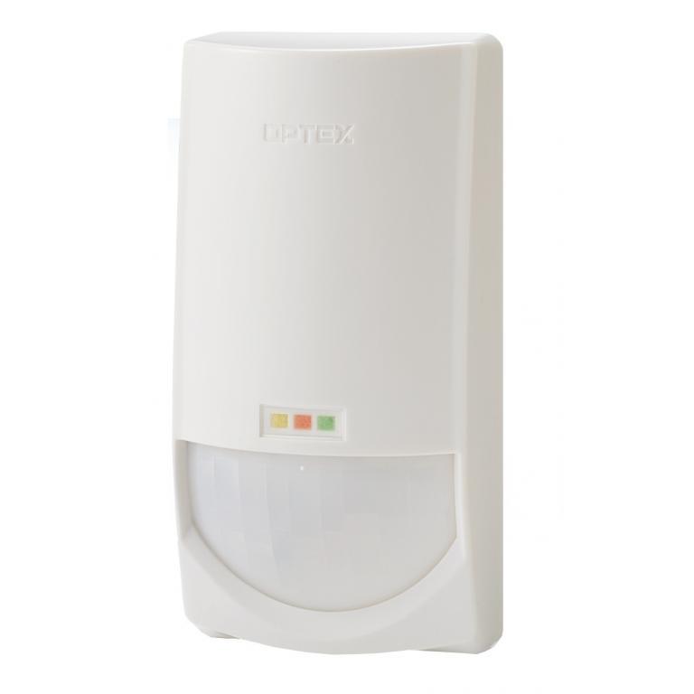 OPTEX-6 | Detector digital de doble tecnología PIR QUAD + Microondas 10,525GHz con antimasking digital por IR activo
