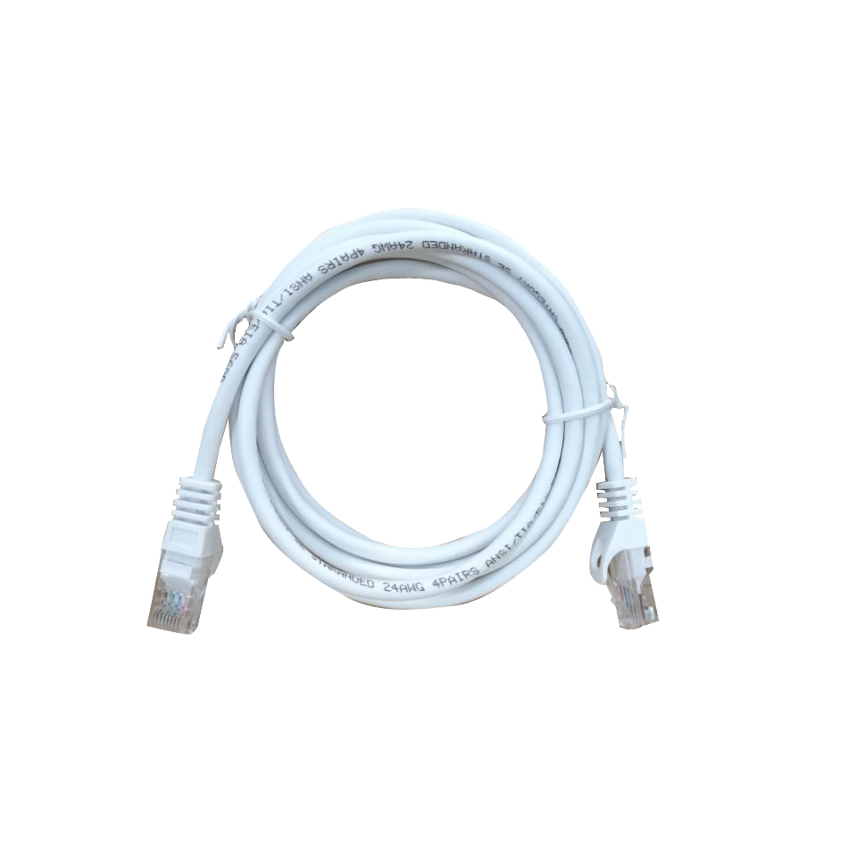 SAM-4442 | UTP unshielded cable of 5 meters  with RJ45 connectors, 5E category