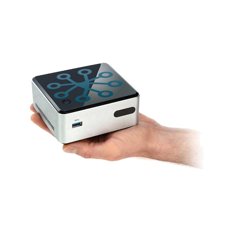 SAM-4671 | Système de centre de données professionnel (unité compacte) pour 4 dispositifs de comptage (flux de données) extensible jusqu'à 24
