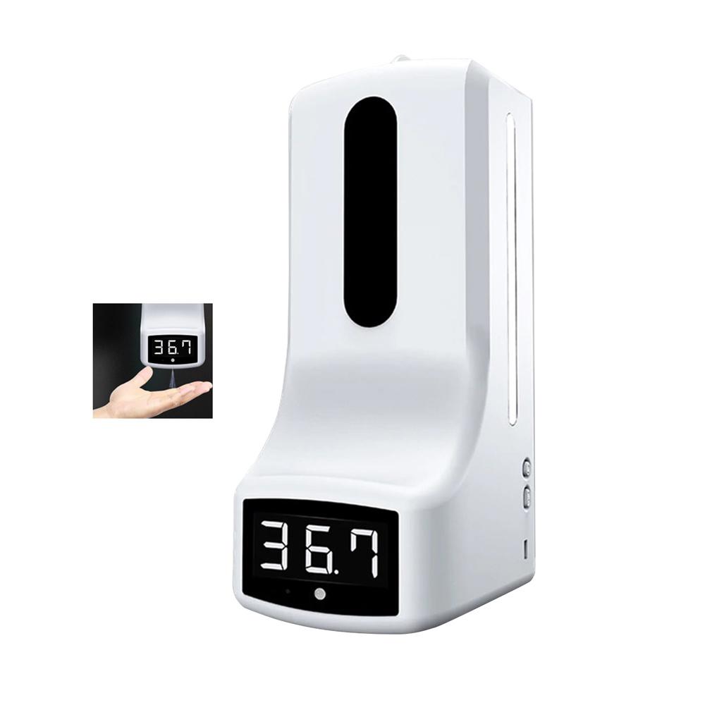 SAM-4717   Hydroalcoholic gel dispenser with smart body temperature meter