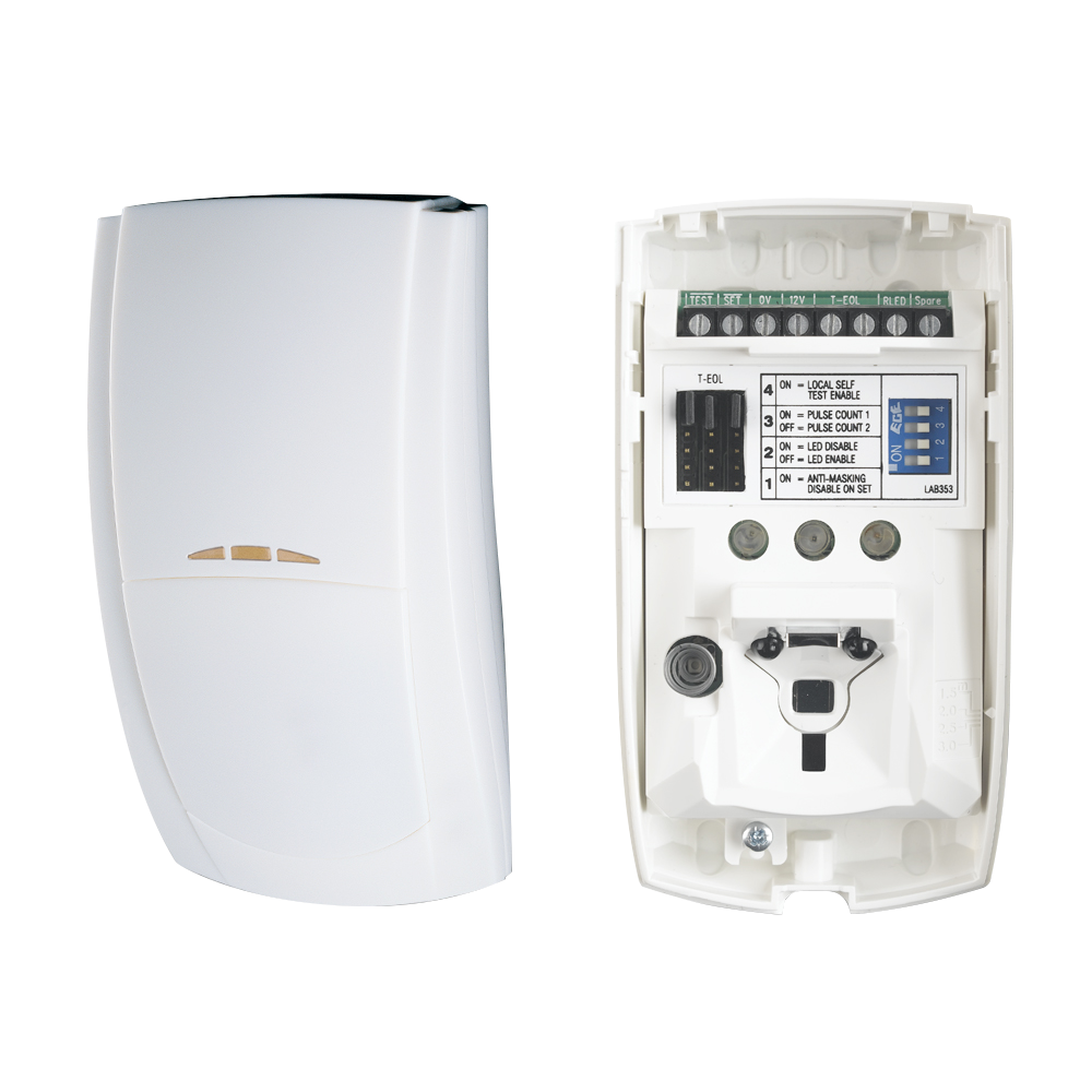 TEXE-10 | Detector PIR QUAD digital con antimasking Premier Elite AMQD
