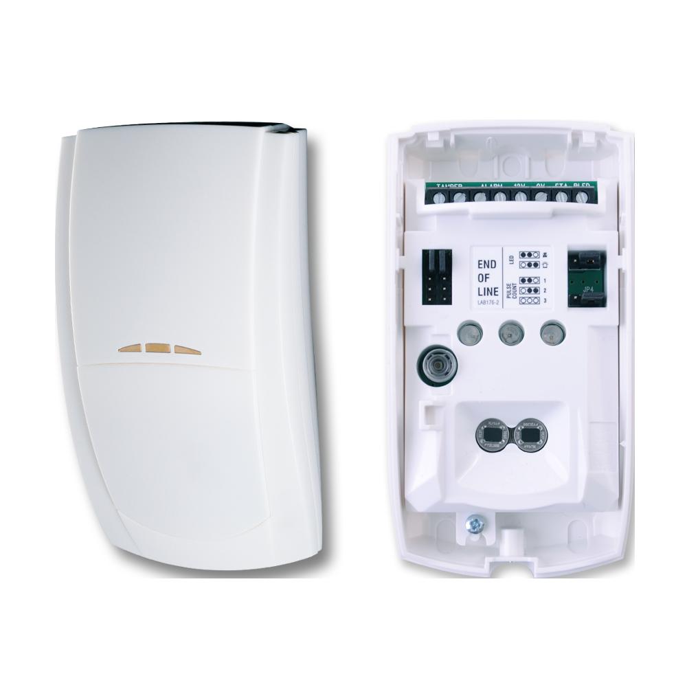 TEXE-14 | Detector PIR digital de elemento dual Premier Elite TD de alta inmunidad con sistema de módulos PCB intercambiables