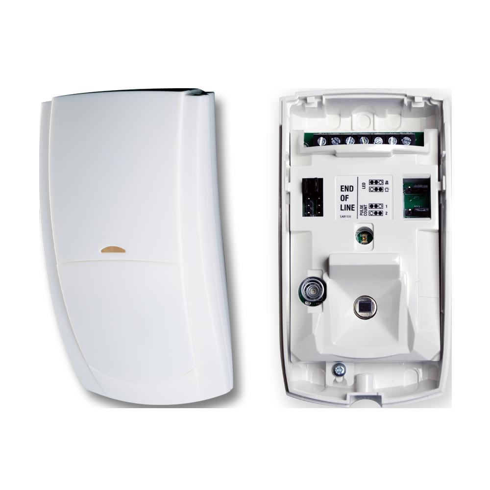 TEXE-15 | Detector PIR QUAD digital Premier Elite QD de alta inmunidad con sistema de módulos PCB intercambiables