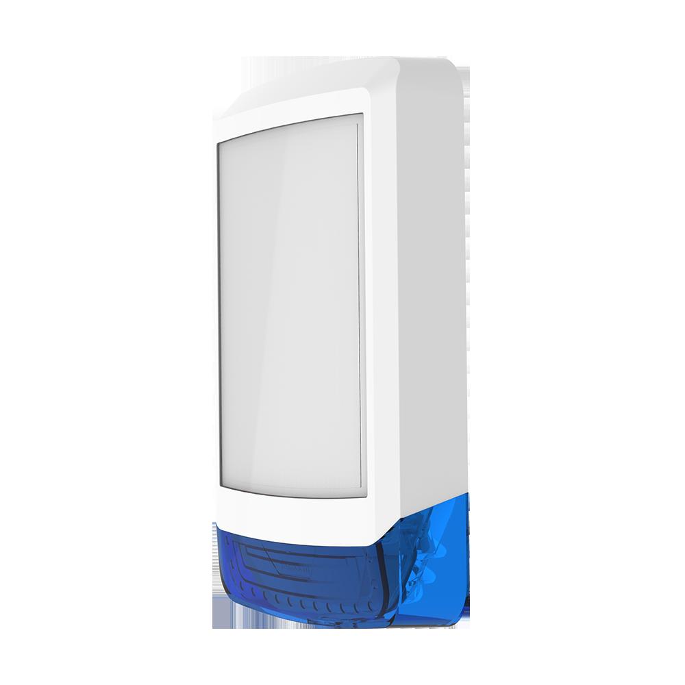 TEXE-21 | Cubierta frontal Odyssey X1 en color blanco/azul para base de sirena retroiluminada de exterior Odyssey X-B.