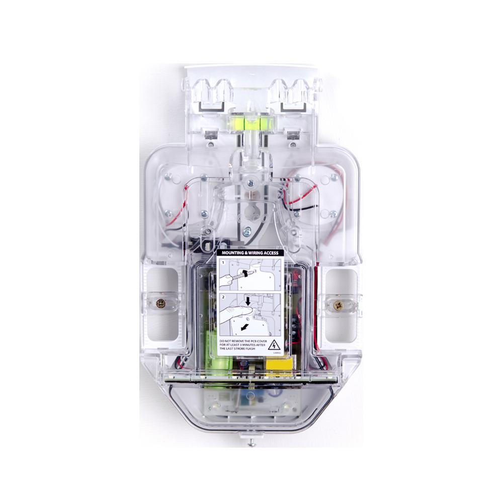 TEXE-27 | Base de sirena retroiluminada de exterior Odyssey X-B para complementar con la gama de cubiertas Odyssey X1 y Odyssey X3