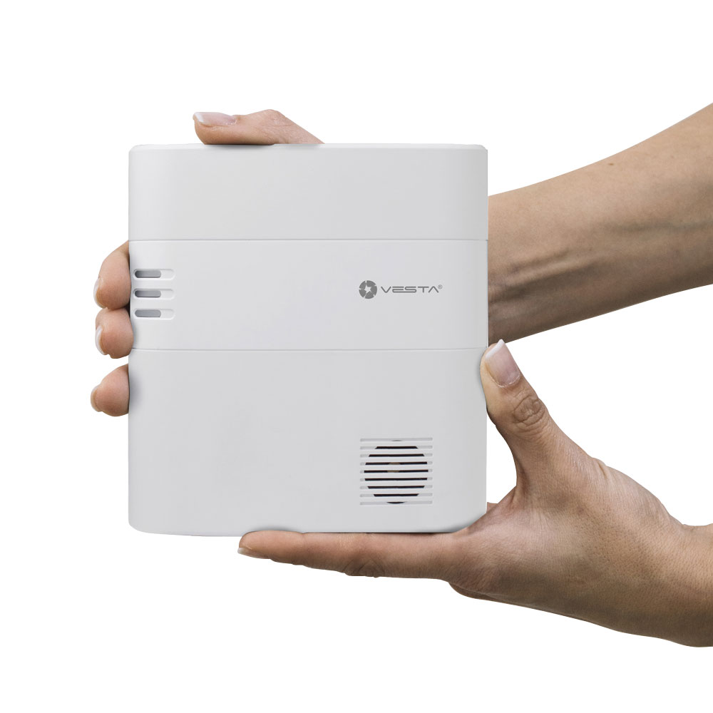 VESTA-066 | 160-zone home security central via radio with IP connectivity Ethernet + 3G alarm.com