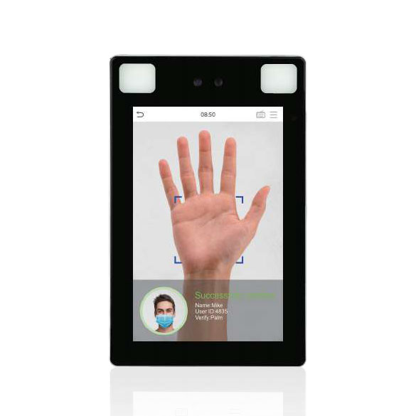 ZK-122 | ZKTeco multi-biometric terminal with face and palm recognition for Access Control