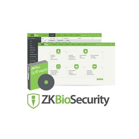 ZK-92 | Advanced all-in-one biometric security solution for 25 doors.