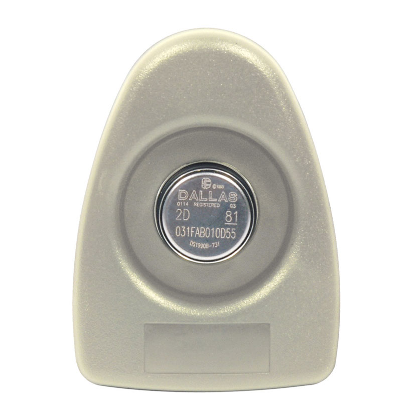 CONAC-347 | Punto de ronda, de alta durabilidad, recubierto de plástico ABS y acero inoxidable