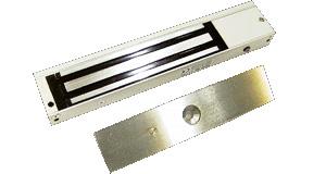 CONAC-380 | Retenedor electromagnético de 300 Kgs, bloqueo puertas con supervisión