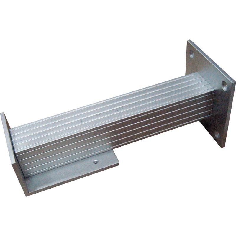 CONAC-390 | Supporto in alluminio per installazione su suolo o soffitto del fermo per porta tagliafuoco