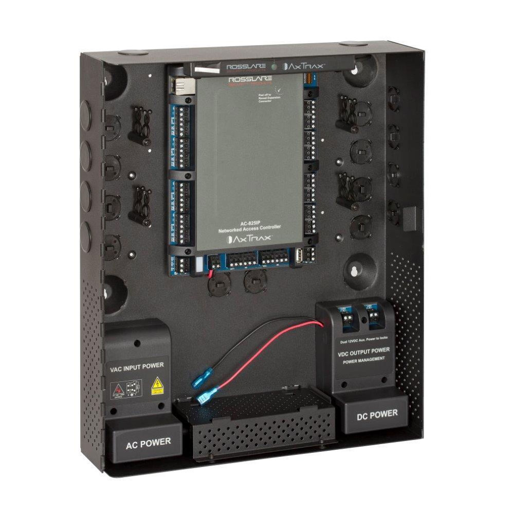 CONAC-626 | Access control panel for 4 readers, expandable to 56 readers, network card, up to 60000 users