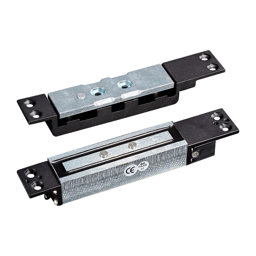 CONAC-675 | Retenedor electromagnético de empotrar para puerta batiente con sensor de estado de puerta