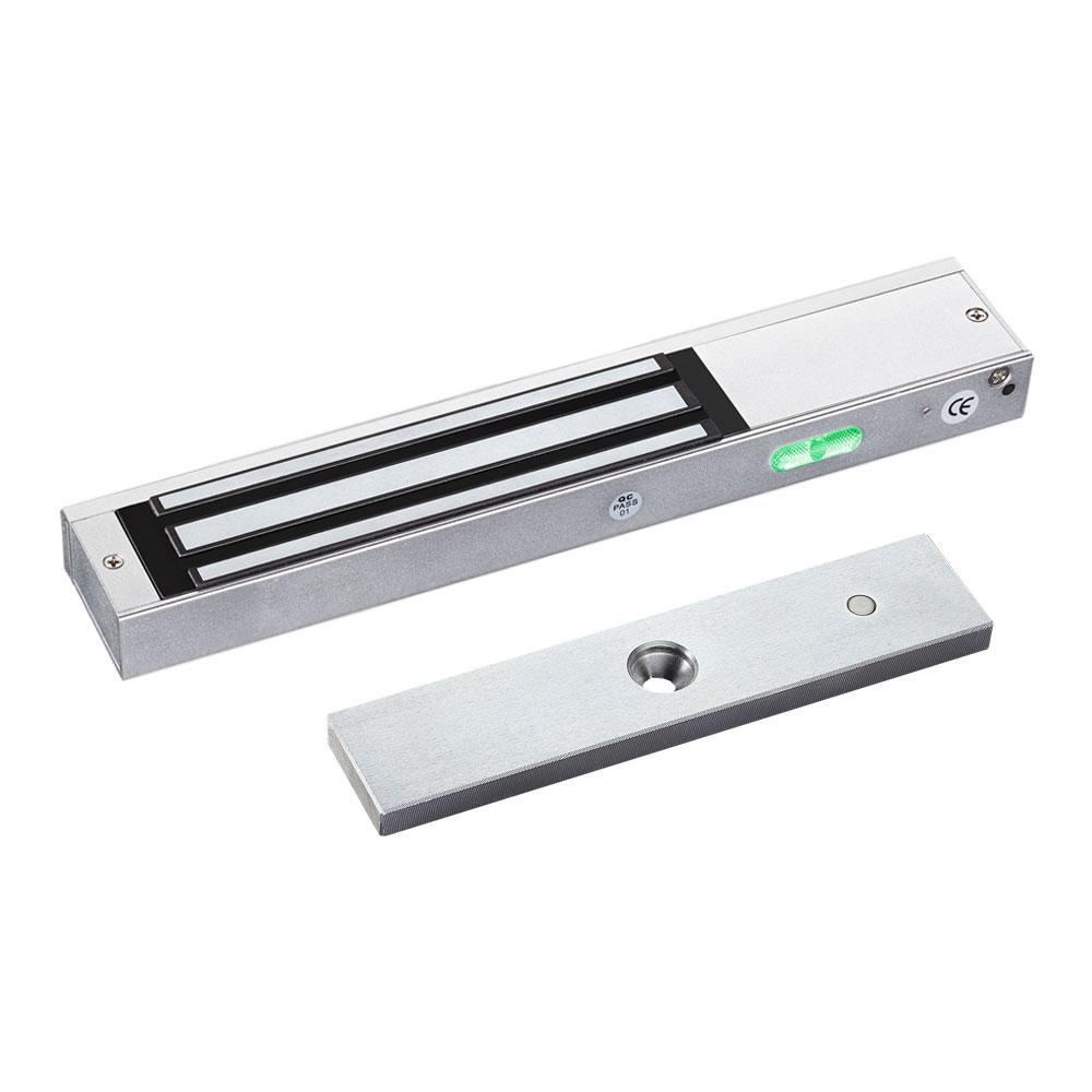 CONAC-710 | Retenedor electromagnético de superficie para una puerta con LED y cámara PAL/NTSC de 550 líneas