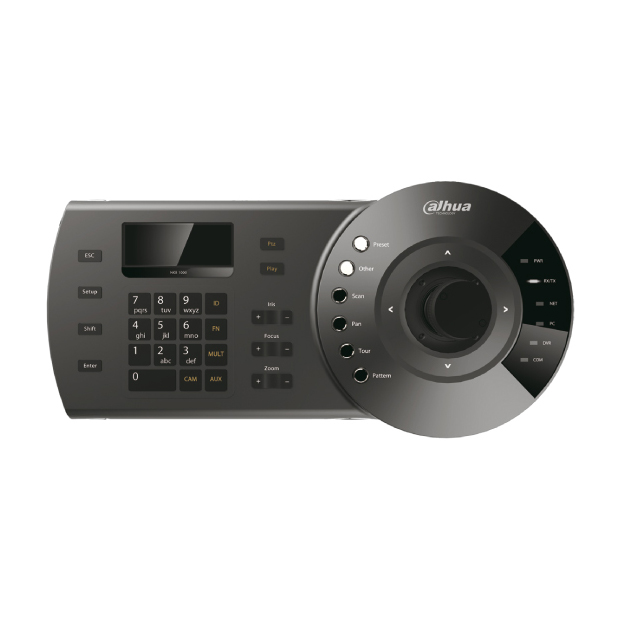 DAHUA-113 | 3 Axis Keyboard for DVR and motorized domes (RS485) control