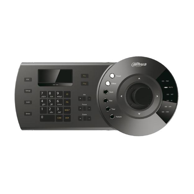 DAHUA-112 | 3 AXIS della tastiera per il controllo del DVR e cupole motorizzate (RS232, RS485)