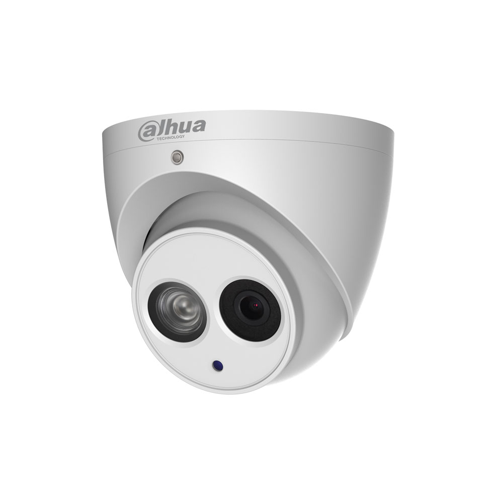 DAHUA-1175 | Fixed IP dome with IR of 50 m, for outdoors