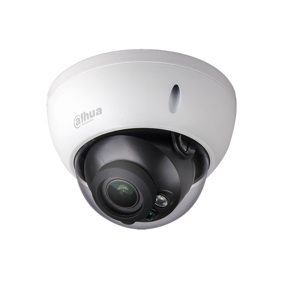 DAHUA-1208 | Fixed IP vandal dome with Smart IR of 30 m, for outdoors