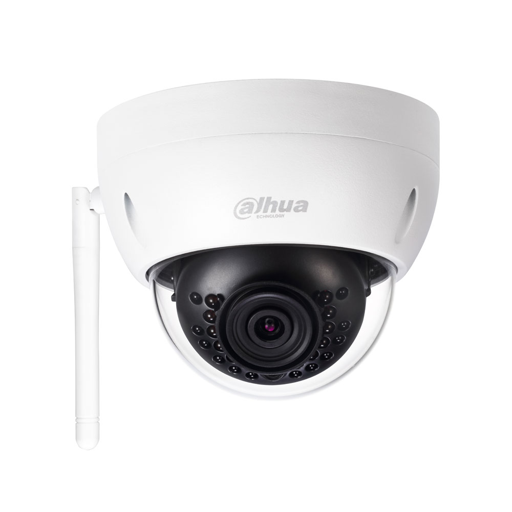 DAHUA-621-FO | WiFi fixed vandal IP domePRO series with IR illumination of 30 m, for outdoors
