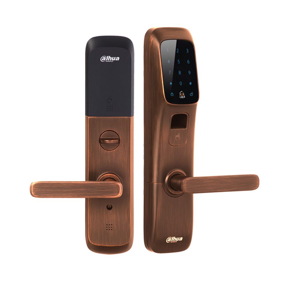 DAHUA-969 | Smart access control lock with bluetooth, fingerprint and MIFARE reader