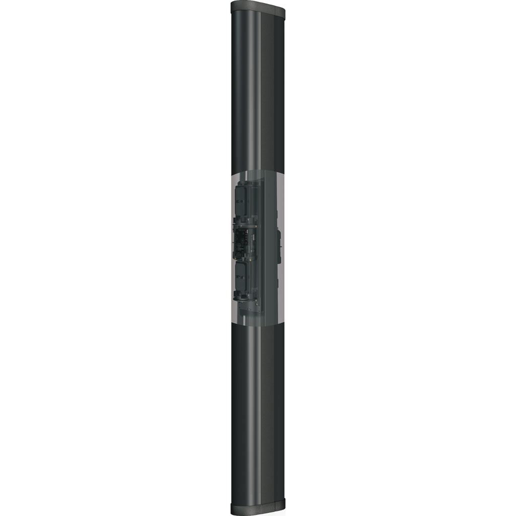 DEM-02 | 2-meters Column and 2 sides with 360° for infrared barriers