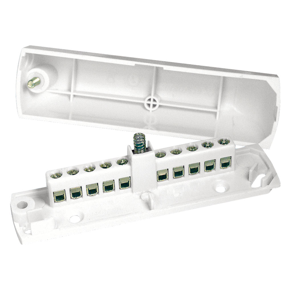 DEM-1038 | Junction box with 10 connections (EN-50131 grade 3)