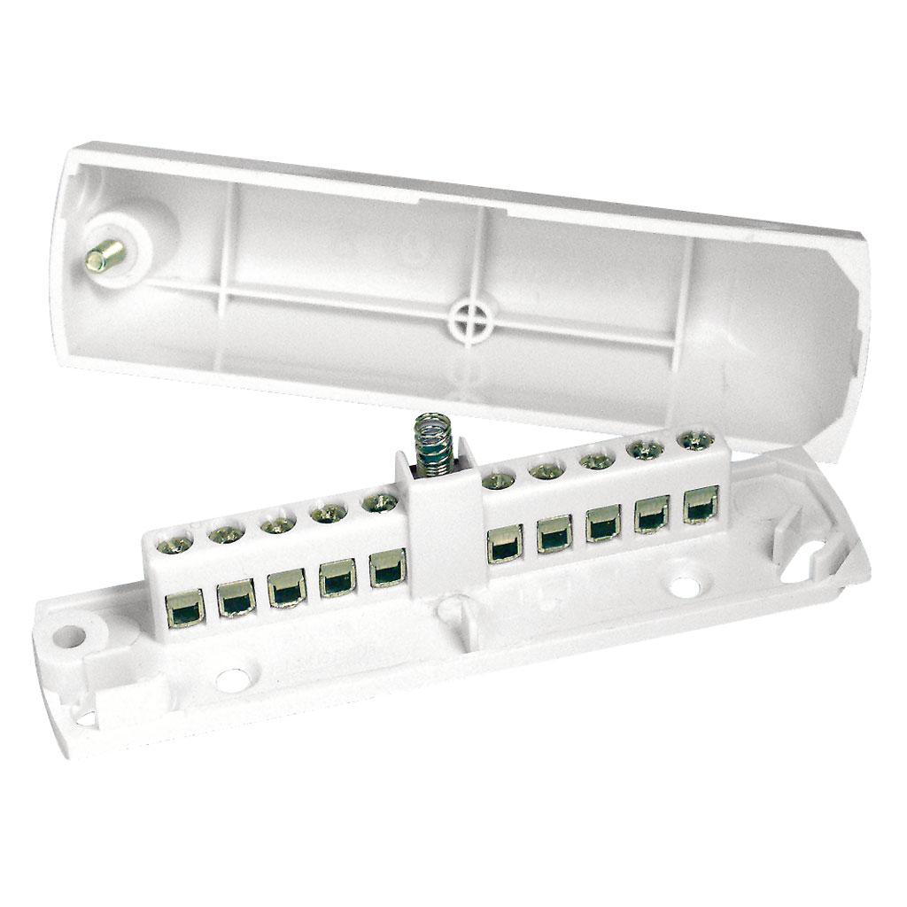DEM-1038 | Caja de emplames con 10 conexiones (EN-50131 grado 3)