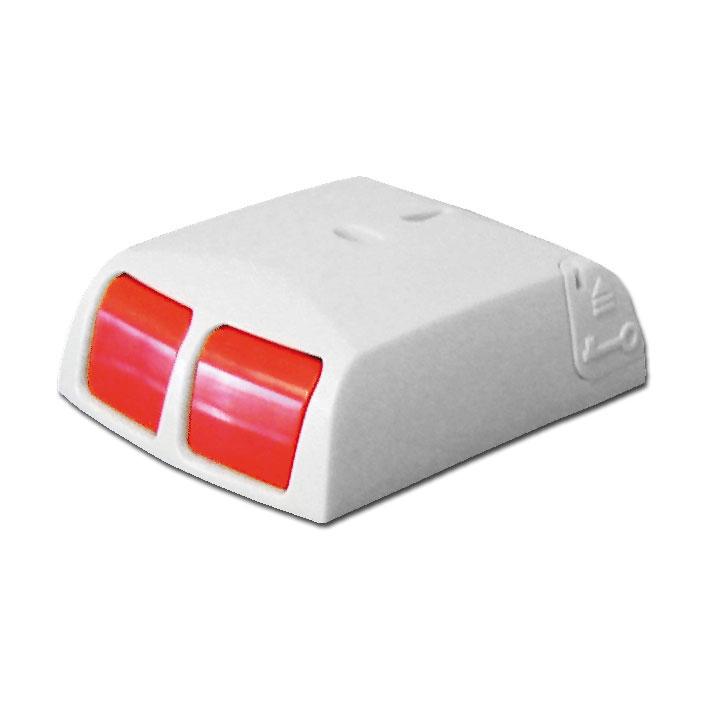 DEM-1039 | Doble pulsador de pánico con resistencias EOL