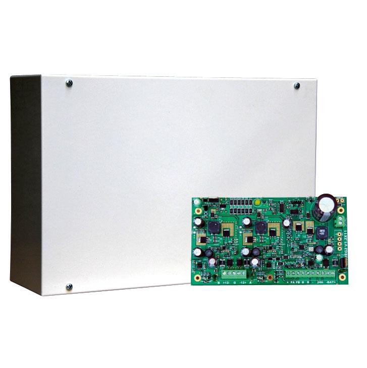 DEM-1042 | Fonte di alimentazione da 12V/1A per sistemi di sicurezza EN50131 Grado 3
