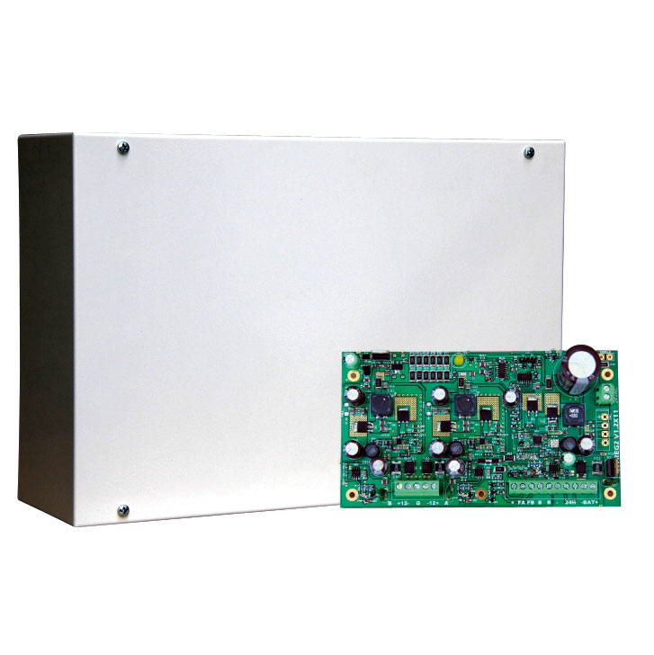 DEM-1042 | 12V / 1A power supply for safety systems EN50131 Grade 3
