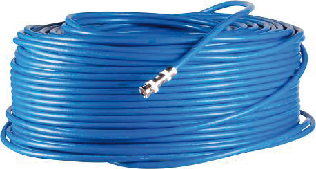 DEM-1063 | Coaxial Cable 75-5 halogen free, especially for video surveillance systems HD (CVI, TVI and AHD).