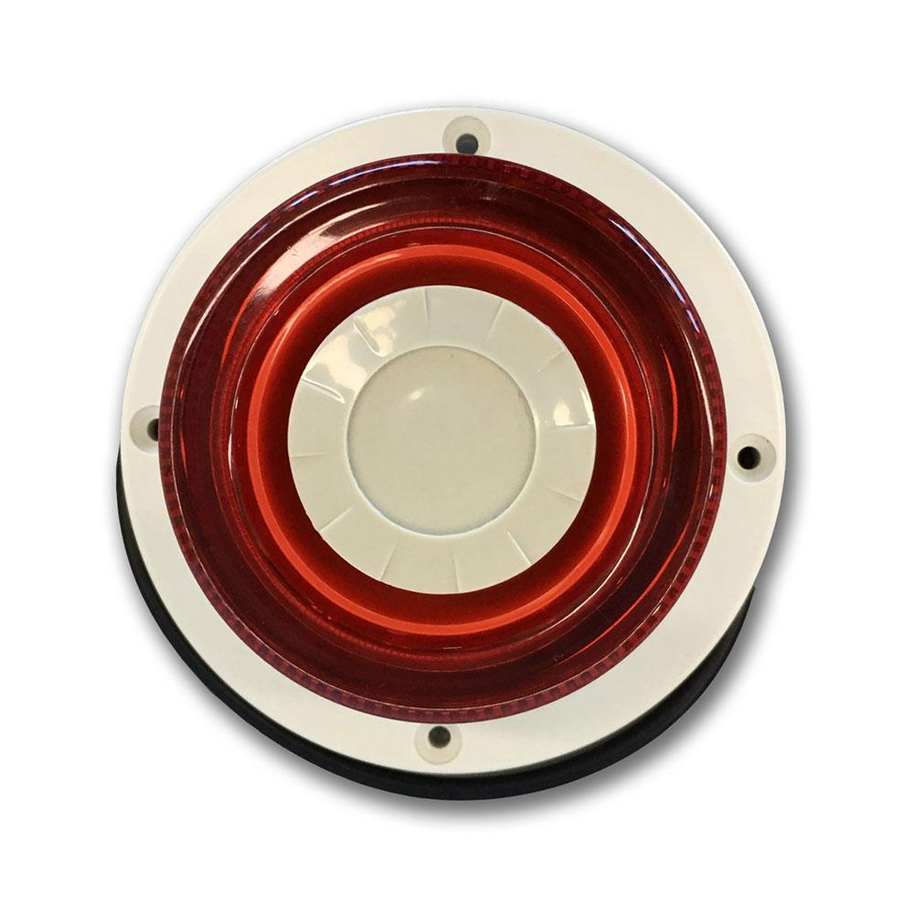 DEM-1077 | Sirena interiore formato circolare con flash