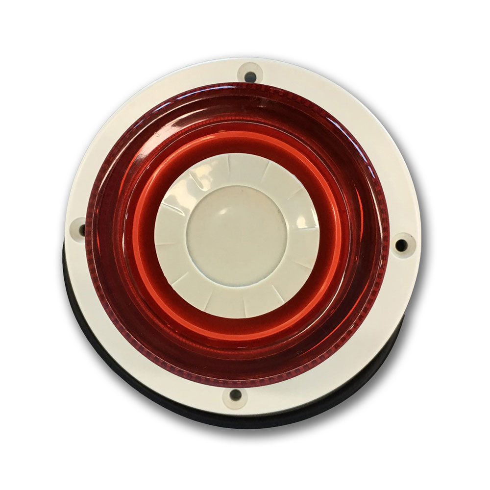 DEM-1077 | Indoor circular siren  with flash