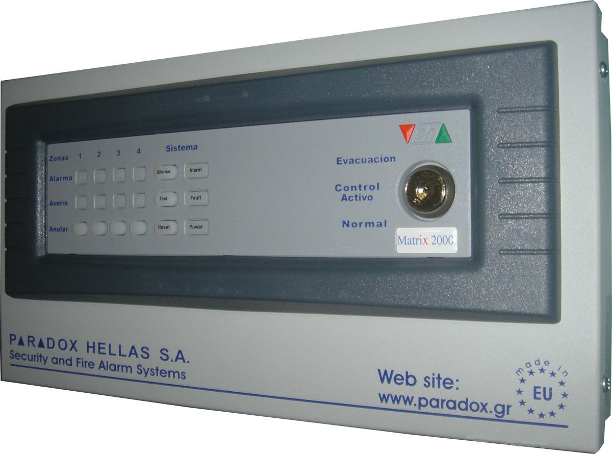FOC-203 | Ripetitore per centrale rilevamento incendi con microprocessore