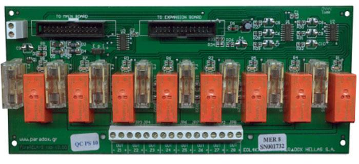 FOC-210 | Modulo a 8 uscite relé per  centrali di rilevamento incendi
