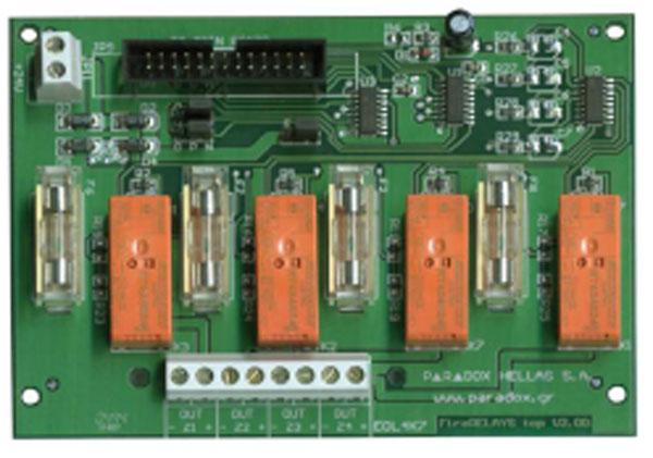 FOC-212 | Módulo de 4 salidas por relé para las centrales MATRIX-004 / 008 / 012