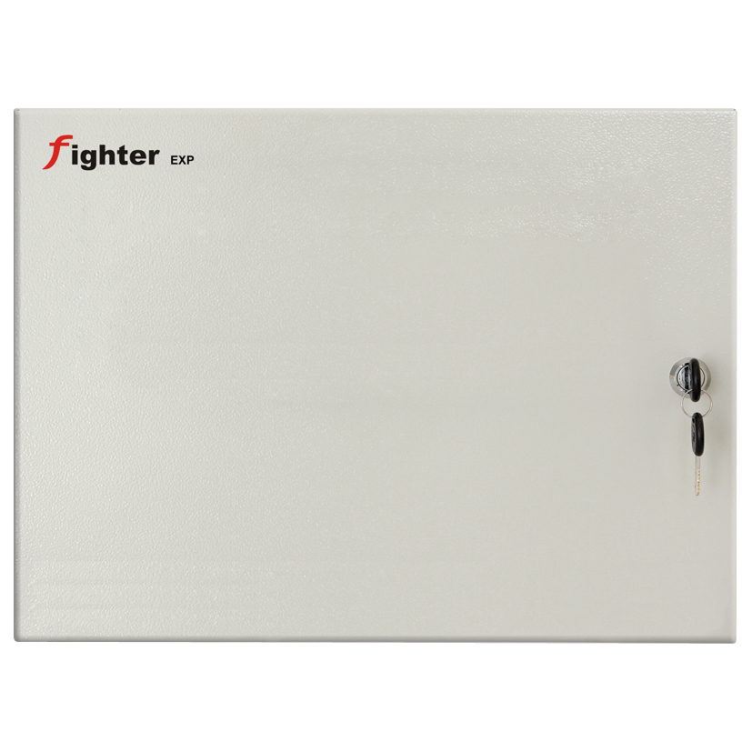 FOC-373   8 zone expander panel + 8 relays for central PARADOX HELLAS Fighter