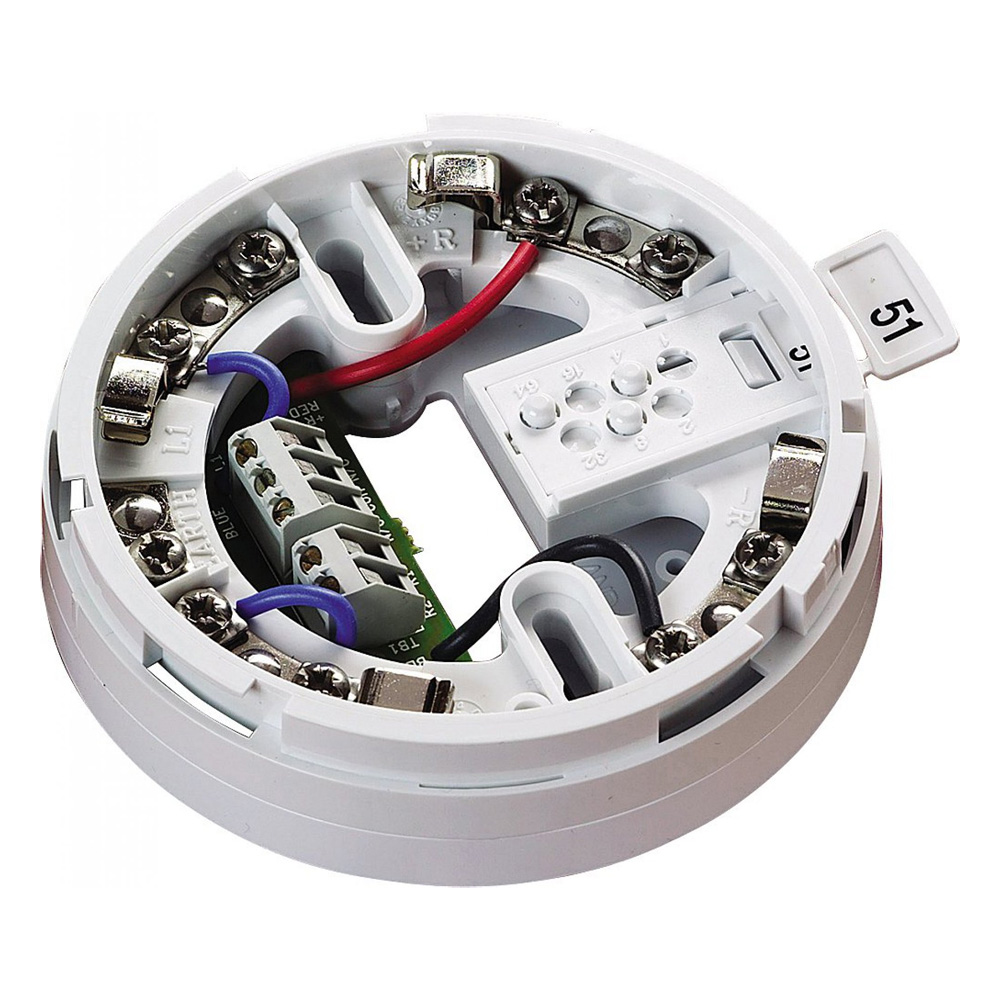 FOC-392 | Base de montaje con salida de relé para detectores XP95