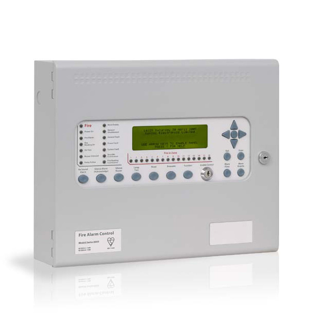 FOC-488 | Kentec Syncro Ace 2-loop analogue fire panel for marine environment and 126 Apollo protocol elements addressable by loop