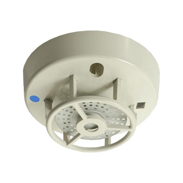 FOC-592 | Detector Hochiki térmico convencional a prueba de agua. Incorpora un elemento de temperatura fija de 60°C. No requiere base. IP67. Policarbonato color marfil. EN54-5.