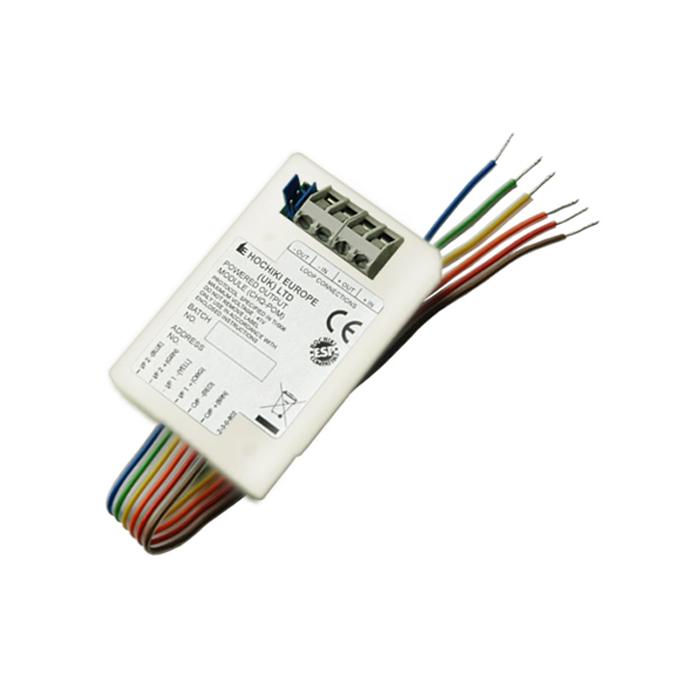 FOC-684 | Modulo con due entrate e un'uscita supervisata 24V CC con fuoco di corrente massima di 2 mA a 32 mA.