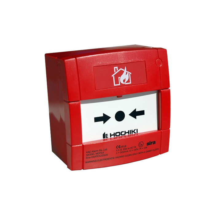 FOC-686 | Conventional resettable intrinsically safe push button