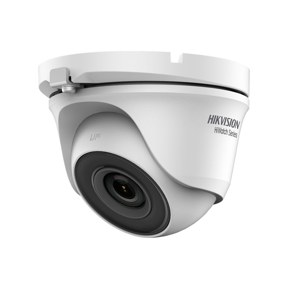 HIK-41 | Domo fijo 4 en 1 Serie HiWatch™ de HIKVISION® con iluminación Smart IR de 20 m para exterior