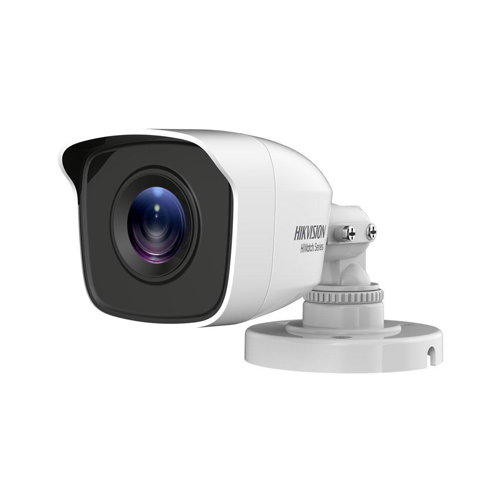 HIK-43 | Cámara bullet 4 en 1 Serie HiWatch™ de HIKVISION® con iluminación Smart IR de 20 m para exterior