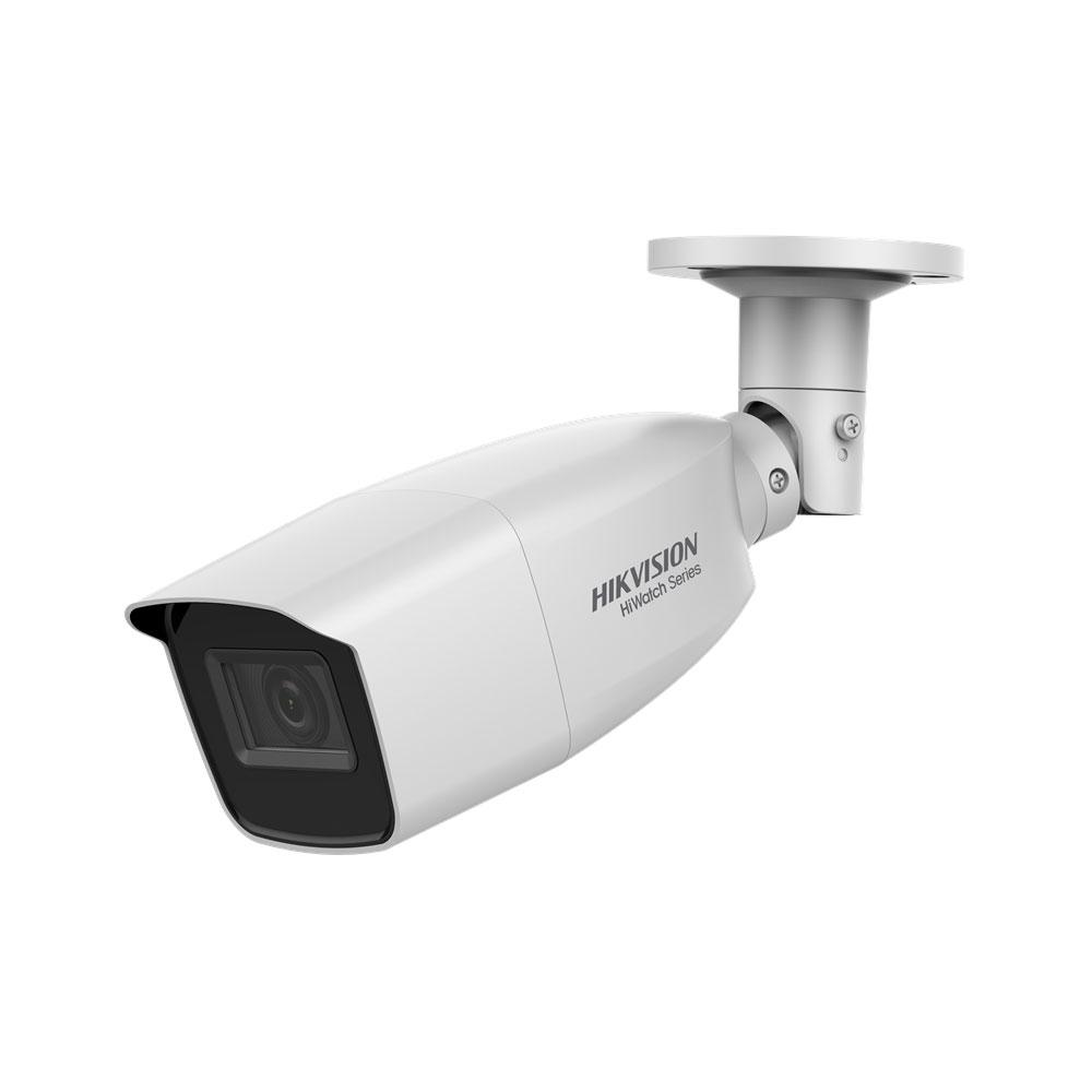 HIK-48 | Cámara bullet 4 en 1 Serie HiWatch™ de HIKVISION® con iluminación Smart IR de 40 m para exterior