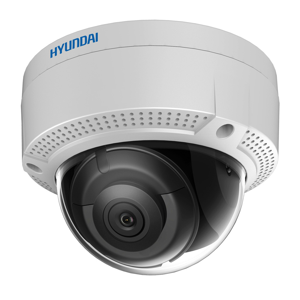HYU-286 | IP vandal dome with IR illumination of 30m, for outdoors, 8 MP