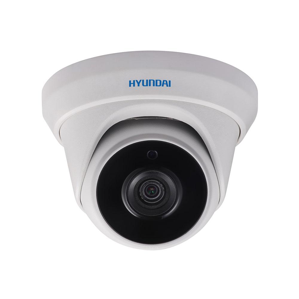 HYU-389 | Domo fijo HD-TVI serie PRO con iluminación Smart IR de 20 m para exterior