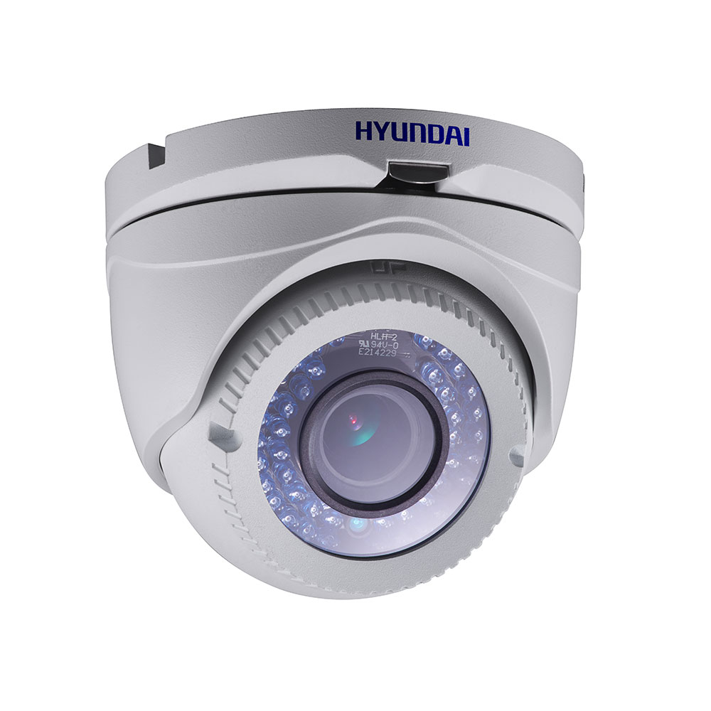 HYU-390 | HD-TVI fixed dome PRO series with Smart IR of 40 m for outdoors