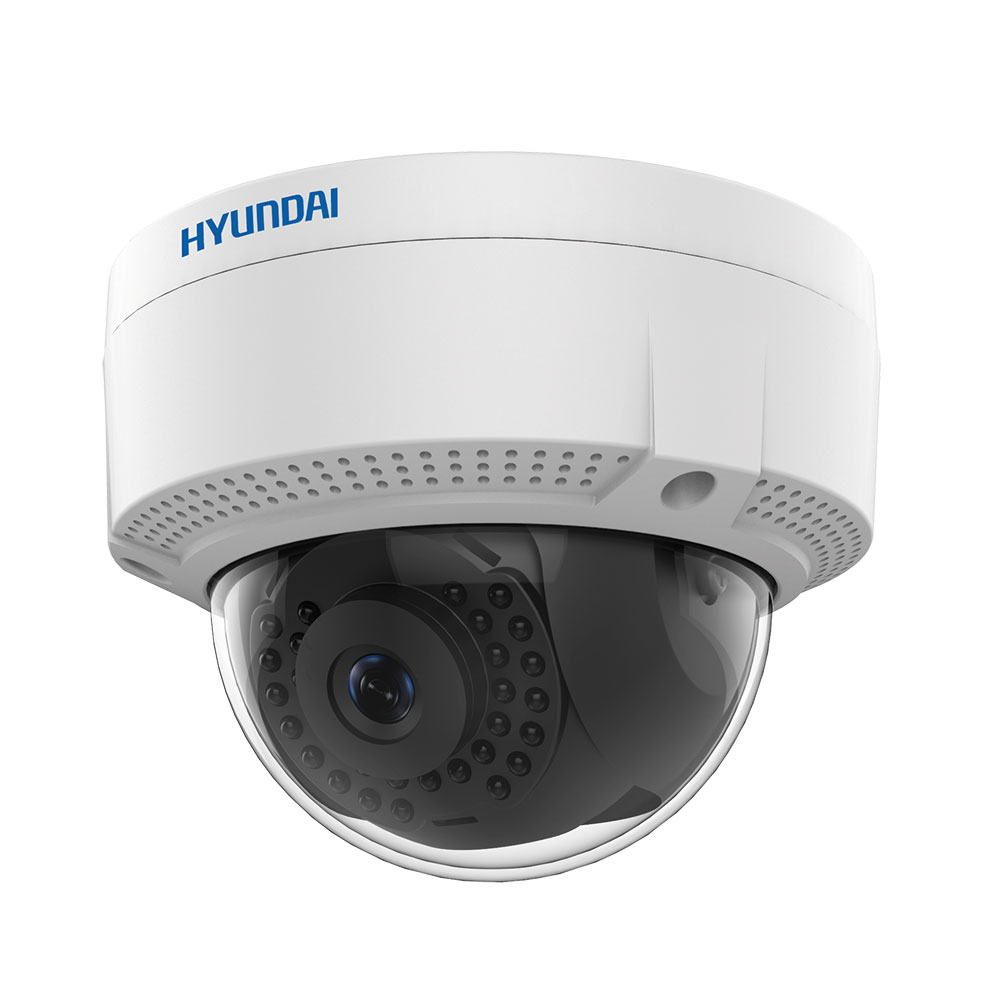 HYU-409 | IP vandal dome with IR illumination of 30m, for outdoors, 4 MP
