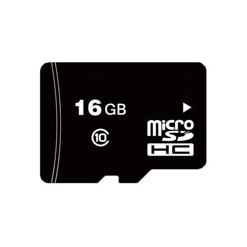 HYU-433 | Tarjeta de memoria Micro SDHC™ de 16GB, Clase 10 TLC, especial para videovigilancia.